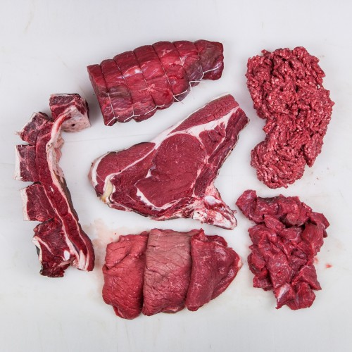 pacco di carne mista